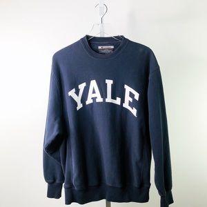 VTG | CHAMPION YALE UNIVERSITY Crewneck Sweatshirt